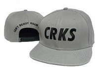 Ball Cap   2013 Hot New Crooks and Castles Snapback hats black hats fashion snapback hats free shipping