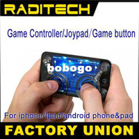 Wholesale Mini fling Joystick Game Controller for iphone for ipod touch android mobile phone