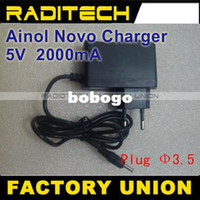 Wholesale Power Adapter Charger V for Ainol NOVO Fire Aurora II ELF II Elf etc Tablet PC
