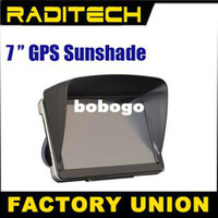 Wholesale inch GPS universal sunshade sunshine shield navigator partner Sun shade hood sun hats