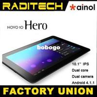 Wholesale Ainol Novo Hero Dual Core Ghz GB IPS Screen Dual Camera Android Tablet PC