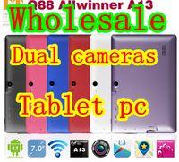 Wholesale DHL Inch Android USB WM A10 A13 Q88 N77 VC882 epad tablet pc MP4 PZ
