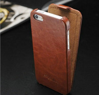 Wholesale 10 Retro Luxury PU leather case for iphone g Original New arrival FASHION logo Flip Thin Design case brown black
