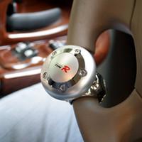 Wholesale TypeR car steering wheel knob power handle grip spinner steering wheel hand control ball pc