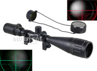Rifle Scopes 11010527  Wholesale - Tactical 6-24x50 AOE Optics Air Rifle Scope Sight Gun Free Rail Mounts Outdoor HOT Free Shipping