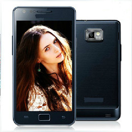 Wholesale HK I9100 Original Unlocked S2 G mobile phone gift screen guard Dual Core GPS WIFI G MP smartphone