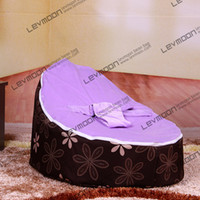 Wholesale baby seat with up cover baby bean bag chair children bean bag seat baby bean bag