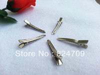 Wholesale Barrettes amp Brooch Clips Finding Alligator clips Crocodile clips mm Fit Jewelry DIY