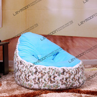 Wholesale baby bean bag with up cover baby beanbag fabric sofa chair baby bean bag chair baby seat