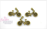 antique Charms  free shipping metal alloy antique brass bicyle jewelry finding bracelet necklace bag accessories bike charms key ring pendant DIY material