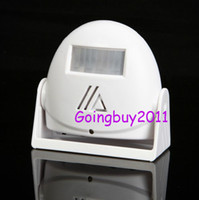 Wholesale Wireless visitor Customer ding dong door chime Entry Alert Entrance Alarm White