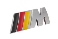 Wholesale EXCELLENT CAR Embleme for BMW III M style metal grille car emblem badge logo m3 Grill Emblem M3 Yellow red black
