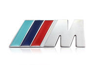 Wholesale CAR Embleme III M style for BMW metal grille car emblem badge logo m3 Grill Emblem M3 Red blue green