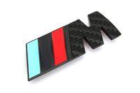 Wholesale III M style CAR METAL Embleme for BMW metal grille car emblem badge logo m3 Grill Emblem M3 Red Black Green M3 style CAR LOGO SO HOT