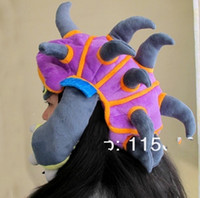 Cool League of Legends LOL Rammus Cosplay HAT PURPLE 100% NE...