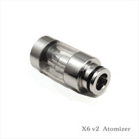 Electronic Cigarette Atomizer  2013 New Arrival X6 v2 atomizer 2.5ml electronic cigarette most popular style e-cigarette fast shipping