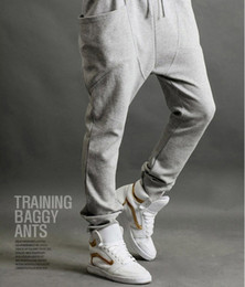 Wholesale new Casual Athletic Hip Hop Dance Sporty Harem Sport Sweat Pants Slacks Trousers Sweatpants