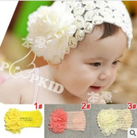 Headbands Blending Floral Korea Baby fashion popular hair band infant headband children lovely hair accessories kids christmas gift 3 color jlbgmy