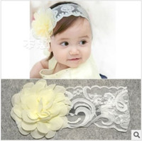 Wholesale Korea baby popular flower hair band infant fashion headband children lovely hair accessories kids christmas gift jlbgmy