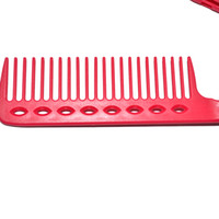 design plastic comb - DIY Clamping Design Plastic Hair Styling Comb Salon Hairdress Comb