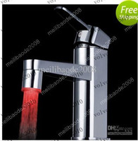 Wholesale LLFA1184 LED Faucet Water Stream Tap Color Temperature