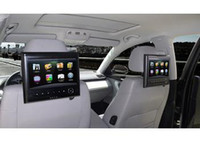 Wholesale car dvd Car Headrest TV monitor built in Analog TV support P HD video playing FM IR USB SD HDMI input Games function