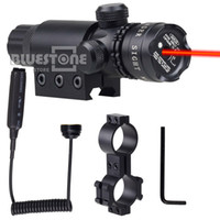 barrel light mount - Tactical Red Laser Sight Dot Adjusted Rifle Picatinny Rail Barrel Mount red dot scope Switch