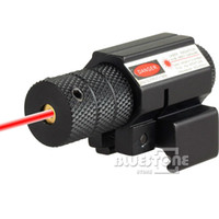 Lasers & Lights aim light - New Tactical Hunting Aiming Red Dot Laser Sight Scope with Mount For Gun Rifle Pistol