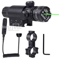 Wholesale New Tactical nm Green Laser Dot hunting Scope Sight Remote Switch Mounts For Rifle