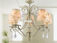 Wholesale 5 lights Crystal Chandelier Contemporary Chandeliers