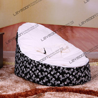65 Cotton and Velvet SKULL (COTTON) Skull Print Base Of Baby Bean Bags To Comfortable Baby Bed With Doomoo Softy And Baby Chair 17 Top Color Choose