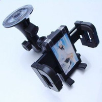 Universal ABS  Black ABS Universal Cell Phone Tablet PC GPS MP3 MP4 Car Mounts Holder Windshield Holder