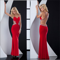Hourglass Floor-Length Princess Wow Factor!!! Halter Backless Rhinestones Beading Sexy Pageant Dress Ball Gown Spandex Prom Dresses