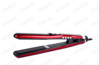 Wholesale Professional Digital LCD Display Tourmaline Ceramic Coating Color Block Flat Irons Ionic amp Ozone Hair straighteners