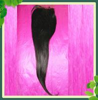 Malaysian Virgin Hair Lace Top Closure Straight Natural Colo...