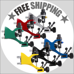 Rotary Tattoo Machine Dragonfly Rotary Motor Tattoo Gun Alloy Frame Liner Shader 6 Color to select