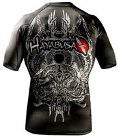 Wholesale MMA Hayabusa Meizuchi RashGunad black t shirt men s short sleeve t shirt