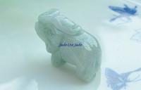 Jade Chirstmas Pendant Necklaces Natural AAA green jade, green jadeite jade charm elephant amulet pendant