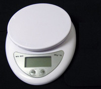 Wholesale 5000g kg x g Digital Electronic Kitchen Weighing Scale Diet Food Balance G LB OZ WH B05 LCD Display
