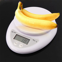 Wholesale 5000g kg x g Digital Electronic Kitchen Weighing Scale Diet Food Balance
