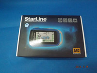 Wholesale Two way car alarm system Starline A92 Russian version LCD remote engine starter H099