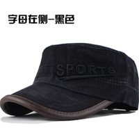 Wholesale Spring summer male casual letter cadet military cap hat women s hat