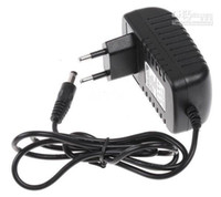 Wholesale 50pcs V A x mm EU US UK Plug AC DC Power adapter charger Power Supply Adapter