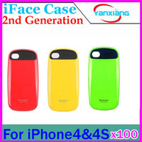 Wholesale DHL Iface for Iphone case iphone4S protective case for Mobile phone case RW L11