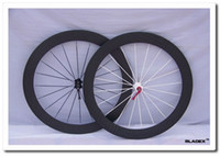 affordable road bikes - BladeX ROAD CARBON WHEELSET C Affordable Durable Full Carbon Wheels mm Clincher T700SC High Tensile Rims Bladed Spokes