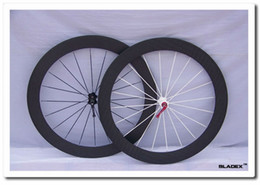 Wholesale BladeX ROAD CARBON WHEELSET C Affordable Durable Full Carbon Wheels mm Clincher T700SC High Tensile Rims Bladed Spokes