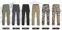 Wholesale new TAD outdoor Shark skin soft shell pants Climbing waterproof breathable trousers