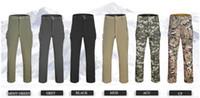 Wholesale Outdoor men Lurker shark skin soft shell TAD Trousers windproof waterproof hiking pants