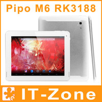 Wholesale 9 PIPO Max M6 Pro G RK3188 Quad Core Android tablet pc IPS Retina GB GB Bluetooth HDMI