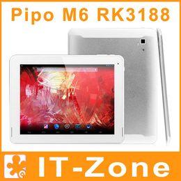 Wholesale 9 PIPO Max M6 Pro G RK3188 Quad Core Android tablet pc IPS Retina GB GB Bluetooth HDMI
